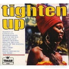 Discos de vinilo: LP VARIOUS ARTISTS TIGHTEN UP VINILO TROJAN REGGAE. Lote 245235050