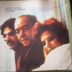 Discos de vinilo: ORNELLA VANONI / VINICIUS DE MORAES / TOQUINHO LA VOGLIA LA PAZZIA L'INCOSCIENZA L'ALLEGRIA. Lote 245236875