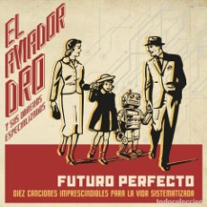 Disques de vinyle: LP AVIADOR DRO FUTURO PERFECTO VINILO + CD SPANISH SYNTH MOVIDA. Lote 245237710