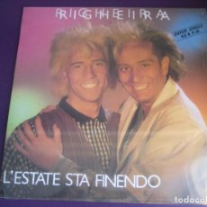 Discos de vinil: RIGHEIRA – L'ESTATE STA FINENDO - MAXI SINGLE HISPAVOX 1985 PRECINTADO - ITALODISCO DISCO POP 80'S. Lote 245249065