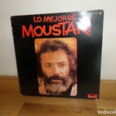Discos de vinilo: GEORGE MOUSTAKI - LO MEJOR DE MOUSTAKI - LP - DISPONGO DE MAS DISCOS DE VINILO. Lote 245251015