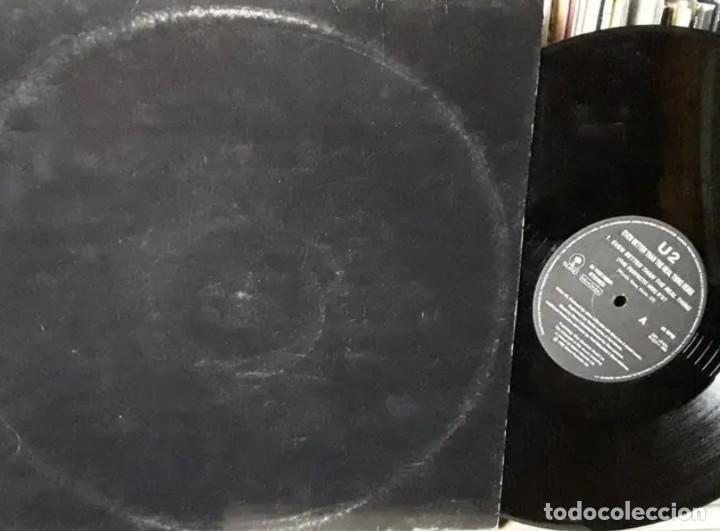 LP VINILO U2 REAL THING 1992 PAUL OAKENFOLD MAXI (Música - Discos de Vinilo - Maxi Singles - Pop - Rock Internacional de los 90 a la actualidad)