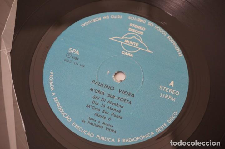 Discos de vinilo: VINILO 12´´ - LP - M´CRIA SER POETA - PAULINO VIEIRA / STEREO DISCOS MONTE - Foto 4 - 245269410