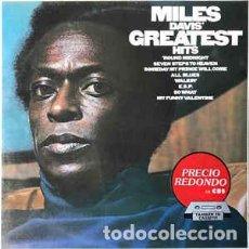 Discos de vinilo: MILES DAVIS – MILES DAVIS' GREATEST HITS VINILO JAZZ. Lote 245273430