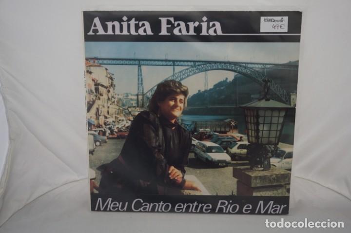 VINILO 12´´ - LP - ANITA FARIA - MEU CANTO ENTRE RIO E MAR / VIDISCO (Música - Discos - LP Vinilo - Otros estilos)
