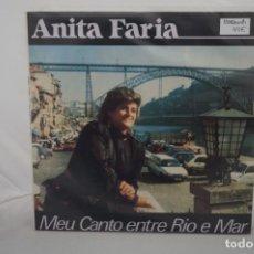 Discos de vinilo: VINILO 12´´ - LP - ANITA FARIA - MEU CANTO ENTRE RIO E MAR / VIDISCO. Lote 245273455
