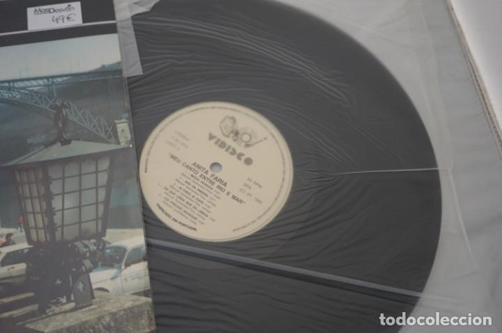 Discos de vinilo: VINILO 12´´ - LP - ANITA FARIA - MEU CANTO ENTRE RIO E MAR / VIDISCO - Foto 2 - 245273455