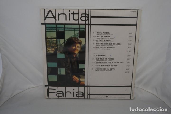 Discos de vinilo: VINILO 12´´ - LP - ANITA FARIA - MEU CANTO ENTRE RIO E MAR / VIDISCO - Foto 4 - 245273455