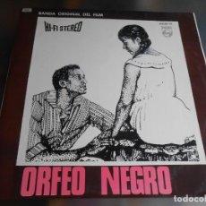 Discos de vinilo: ORFEO NEGRO - BANDA ORIGINAL DEL FILM -, LP, GÉNÉRIQUE - FELICIDADE - FREVO + 8 , AÑO 1967. Lote 245275120