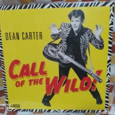 Discos de vinilo: DEAN CARTER CALL OF THE WILD! LP VINILO PRECINTADO. ROCKABILLY.. Lote 245275310