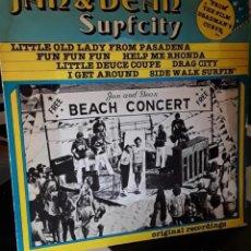 Discos de vinilo: LP VINILO JAN AND DEAN SURFCITY 1979 SURF OST DEADMAN´S CURVE. Lote 245276565