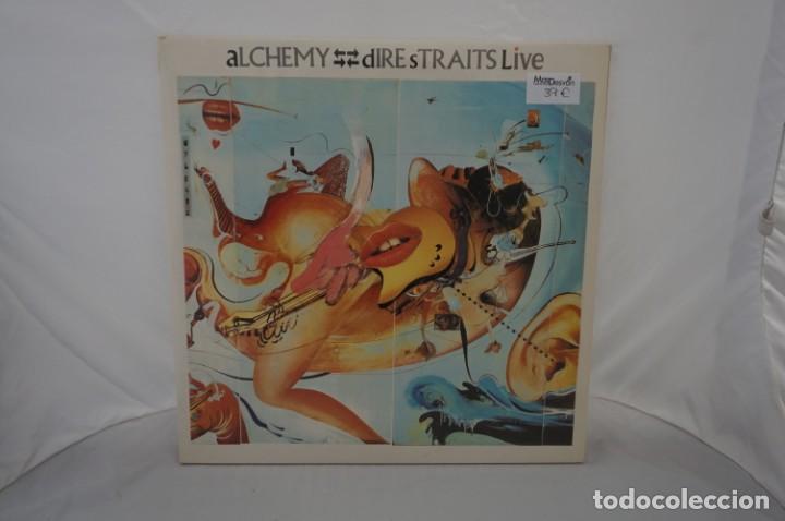 VINILO 12´´ - DOBLE LP - DIRE STRAITS LIVE - ALCHEMY / VERTIGO (Música - Discos - LP Vinilo - Otros estilos)