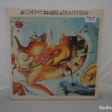 Discos de vinilo: VINILO 12´´ - DOBLE LP - DIRE STRAITS LIVE - ALCHEMY / VERTIGO. Lote 245277650
