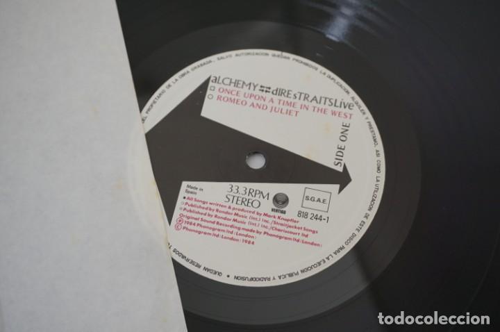 Discos de vinilo: VINILO 12´´ - DOBLE LP - DIRE STRAITS LIVE - ALCHEMY / VERTIGO - Foto 5 - 245277650
