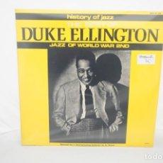 Disques de vinyle: VINILO 12´´ - LP - DUKE ELLINGTON - THE BEST - JAZZ OF WORLD WAR 2ND. Lote 245280805