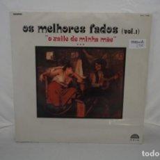 Discos de vinilo: VINILO 12´´ - LP - OS MELHORES FADOS VOL. 1 - O XAILE DE MINHA MAE / RAPSODIA. Lote 245283245