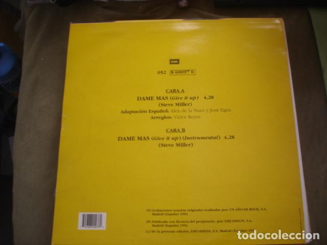 Discos de vinilo: Alex De La Nuez  Dame Mas - Foto 2 - 245284455