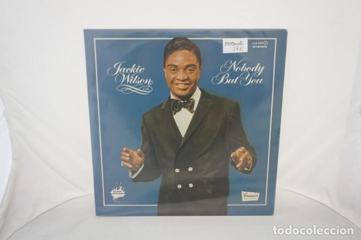 VINILO 12´´ - LP - JACKIE WILSON - NOBODY BUT YOU / BLACK FEELING / ZAFIRO (Música - Discos - LP Vinilo - Otros estilos)