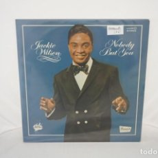 Discos de vinilo: VINILO 12´´ - LP - JACKIE WILSON - NOBODY BUT YOU / BLACK FEELING / ZAFIRO. Lote 245284620