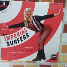 "Discos de vinilo: THE IMPERIAL SURFERS ‎– 3 SHOT . VINYL, 7"", 45 RPM, EP, LIMITED EDITION. NUEVO. Lote 245286570"