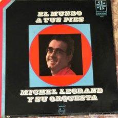 Discos de vinilo: LP ARGENTINO DE MICHEL LEGRAND Y SU ORQUESTA AÑO 1966 REEDICIÓN. Lote 245306365