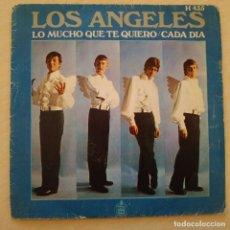 Discos de vinilo: LOS ANGLES - LO MUCHO QUE TE QUIERO / CADA DIA - SINGLE HISPAVOX 1969. Lote 245311920