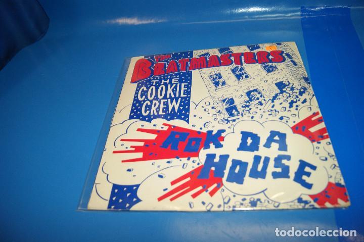 "Discos de vinilo: Vinilo, 12"" -The Beatmasters Featuring The Cookie Crew – Rok Da House - Foto 2 - 245342175"