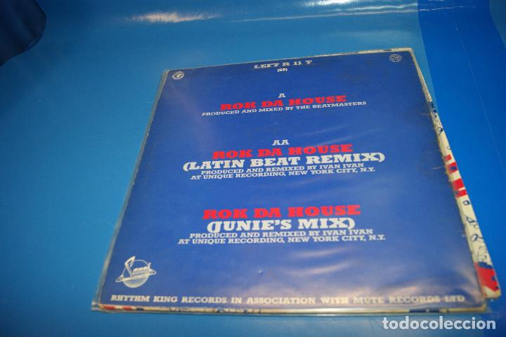 "Discos de vinilo: Vinilo, 12"" -The Beatmasters Featuring The Cookie Crew – Rok Da House - Foto 3 - 245342175"