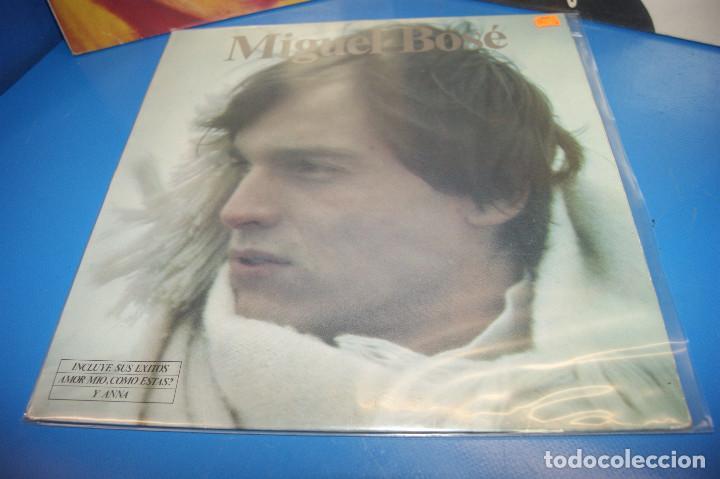 Discos de vinilo: Lote 3 vinilos-discos Lps MIGUEL BOSE-De bandido a Duende-XXX-MIGUEL BOSE - Foto 2 - 245343260