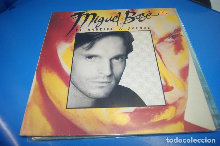Discos de vinilo: Lote 3 vinilos-discos Lps MIGUEL BOSE-De bandido a Duende-XXX-MIGUEL BOSE - Foto 6 - 245343260