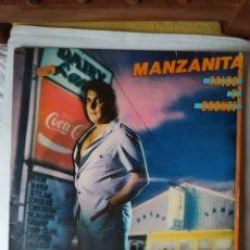 Disques de vinyle: MANZANITA -TALCO Y BRONCE- LP 1981- CBS.. Lote 245350170