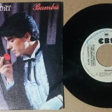 Discos de vinilo: ALAIN CHAMFORT / BAMBU / SINGLE 7 PULGADAS. Lote 245350975