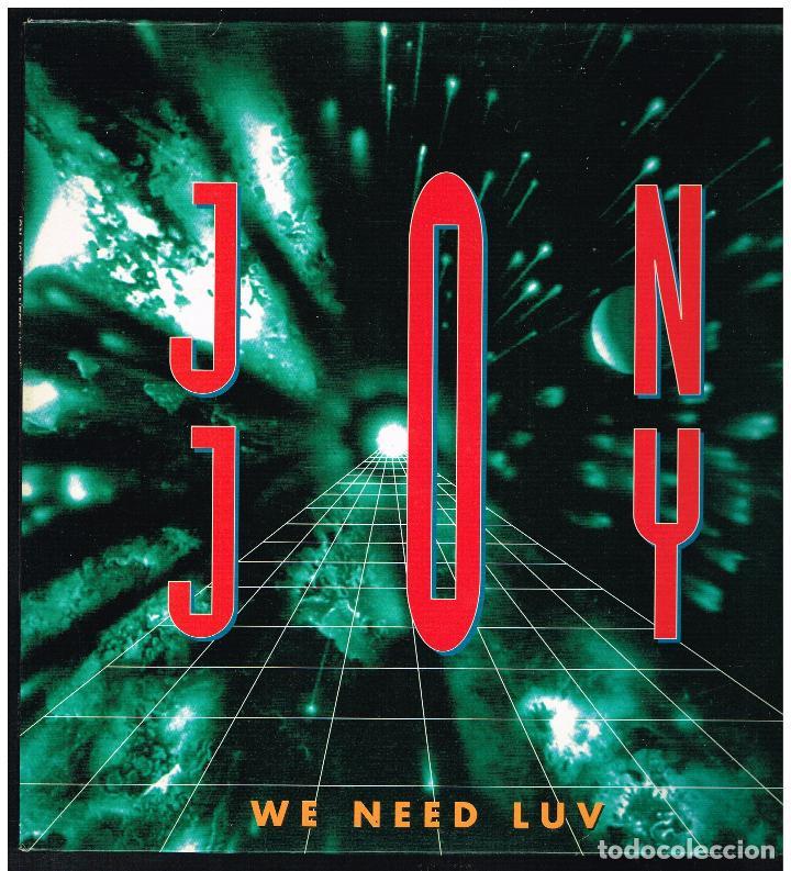 JON JOY - NE NEED LUV - MAXI SINGLE 1994 - ED. ESPAÑA (Música - Discos de Vinilo - Maxi Singles - Pop - Rock Internacional de los 90 a la actualidad)