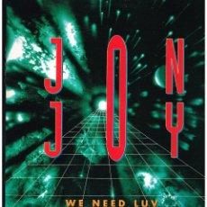 Discos de vinilo: JON JOY - NE NEED LUV - MAXI SINGLE 1994 - ED. ESPAÑA. Lote 245354165