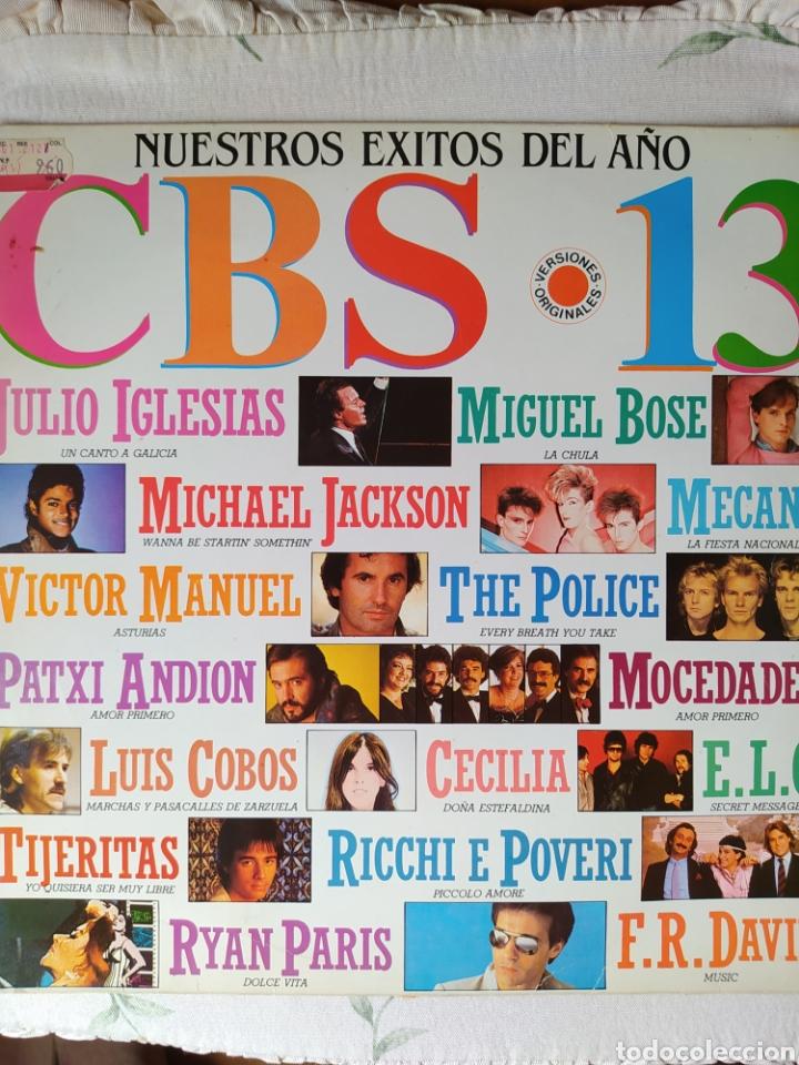 CBS 13. NUESTROS ÉXITOS DEL AÑO 1983- (Música - Discos - LP Vinilo - Otros estilos)