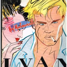 Discos de vinilo: IVAN - HEY MADEMOISELLE - MAXI SINGLE 1986 - ED. ESPAÑA. Lote 245356060