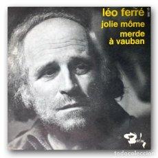 Discos de vinilo: LÉO FERRÉ - JOLIE MÔME. Lote 245363870