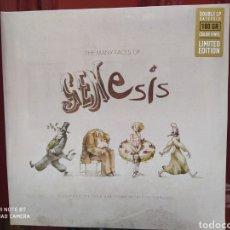 Discos de vinilo: THE MANY FACES OF GENESIS. 2 ×VINYL, LP, COMPILATION,COLOR. PRECINTADO. Lote 245364715