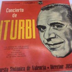 Discos de vinilo: DISCO LP - CONCIERTO DE ITURBI - ORQUESTA SINFONICA DE VALENCIA - RCA. Lote 245368385