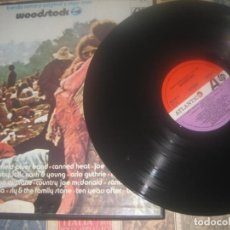 Discos de vinilo: BANDA SONORA ORIGINAL Y ALGO MAS WOODSTOCK / 1970 ATLANTIC HATS421-50 / 3 LPS OG ESPAÑA. Lote 245369430