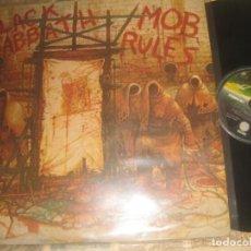 Discos de vinilo: BLACK SABBATH - MOB RULES ( VERTIGO1981) OG ESPAÑA LEA DESCRIPCION. Lote 245372575