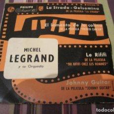Discos de vinilo: EP MICHEL LEGRAND LA STRADA RIFIFI PHILIPS 432036 SPAIN. Lote 245375650