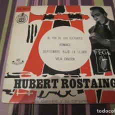 Discos de vinilo: EP HUBERT ROSTAING EL FOX DE LOS ESLEGANTES HISPAVOX 8711. Lote 245375935