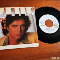 Discos de vinilo: CAMILO SESTO TENGO GANAS DE VIVIR SINGLE VINILO PROMO DEL AÑO 1985 ARIOLA 2 TEMAS. Lote 245379195