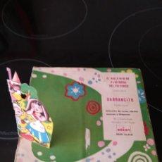 Discos de vinilo: EL GALLO KI RI KO O LAS BODAS DEL TIO PERICO / GARBACITO / SINGLE 45 RPM / ODEON 1964. Lote 245383905