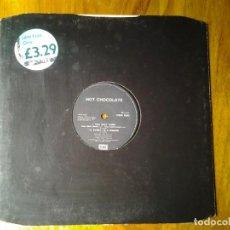 Discos de vinilo: HOT CHOCOLATE -YOU SEXY THING- MAXI-SINGLE 45RPM EMI ED. INGLESA 1975 12EMI 5592 MUY BUENAS CONDICIO. Lote 245387575