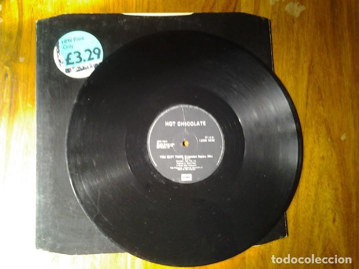 Discos de vinilo: HOT CHOCOLATE -YOU SEXY THING- MAXI-SINGLE 45RPM EMI ED. INGLESA 1975 12EMI 5592 MUY BUENAS CONDICIO - Foto 3 - 245387575