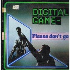 Dischi in vinile: DIGITAL GAME - PLEASE DON'T GO - MAXI SINGLE 1985 - ED. ESPAÑA. Lote 245388920