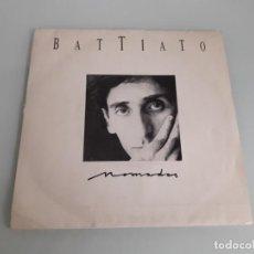 Discos de vinilo: VININO SINGLE 45 R.P.M. - FRANCO BATTIATO - NOMADAS 4'18 (DEL LP NÓMADAS) - SOLO UN TEMA - EMI 1987. Lote 245397600