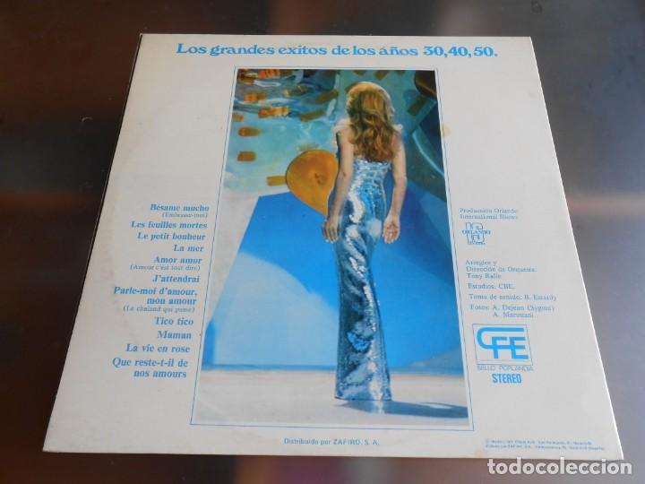 Discos de vinilo: DALIDA - COUP DE CHAPEAU AU PASSÉ -, LP, BESAME MUCHO + 10, AÑO 1976 - Foto 4 - 245397870